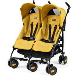 Peg Perego - Stroller Pliko Mini Twin Mod Yellow