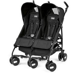 Peg Perego - Stroller Pliko Mini Twin Onyx Black