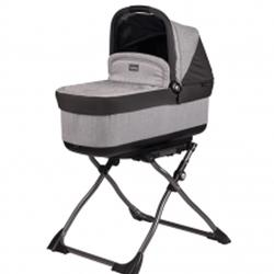 Peg Perego - Navetta Pop Up Bassinet Atmosphere - Light Grey & Dark Grey