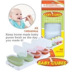 Juvenile Solutions Baby Cube 4 oz Pack of 4