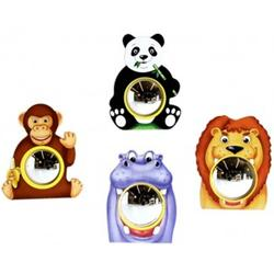 Anatex AFW0506 Animal Friends Wall Mirror (Set of 4)