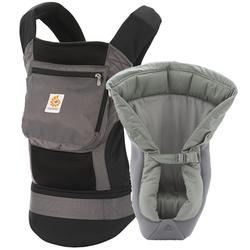 Ergo Baby - Performance Carrier Bundle of Joy- Charcoal Black