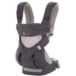 Ergo Baby BC360PBLKGR- 360 Carrier Carbon Grey