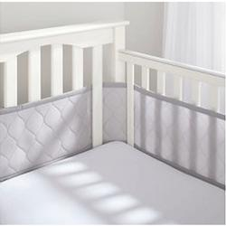 Breathable Baby 25208 Breathable Mesh Liner - Embossed Gray
