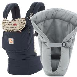 Ergo Baby Original Baby Carrier Sailor With Grey Infant Insert Free Shipping Coupons And Discounts May Be Available