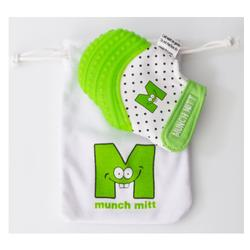 Munch Mitt Teething Mitten - Green