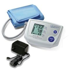 LifeSource UA-767PSAC Advanced One Step Auto Inflate Blood Pressure Monitor with Small Cuff and AC Adapter