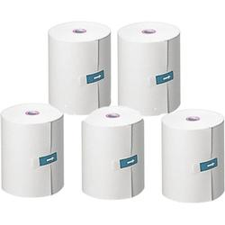 LifeSource AX:PP147-S Pack of 5 Printer Thicker Paper Rolls for TM-2655P & TM-2657P