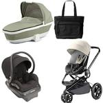 Quinny Moodd Newborn System in Bold Block Grey