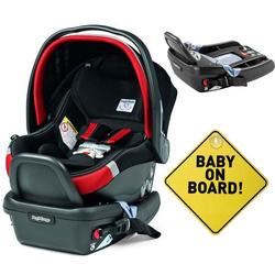 Peg Perego - Primo Viaggio 4-35 Synergy With Extra Base And Baby on Board Sign