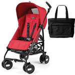 Peg Perego - Stroller Pliko Mini Mod Red With Bag