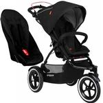Phil & Teds Sport V5_5 With Double Seat - Black