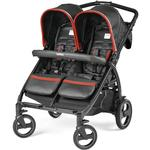 Peg Perego - Book for Two Synergy  (Black w/Red & Silver)