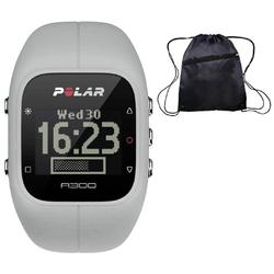 Polar A300 Storm Grey Fitness and Activity Monitor with HR and Travel Bag