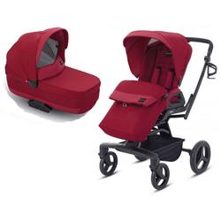 Inglesina - Quad Stroller with Bassinet - Intense Red