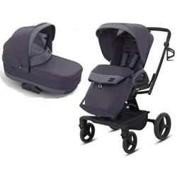 Inglesina - Quad Stroller with Bassinet - Stone Grey
