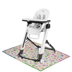 Peg Perego Siesta High Chair with Splat Matt - Latte White