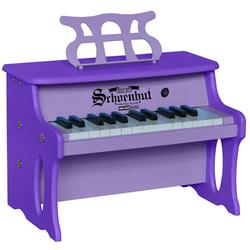 Schoenhut 2514PU 25 Key Two Tone Digital Table Top Piano - Purple/Purple