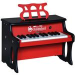 Schoenhut 2514RB 25 Key Two Tone Digital Table Top Piano - Red/Black