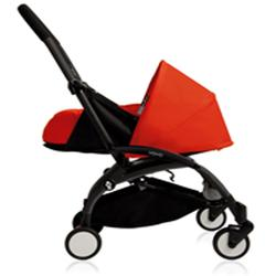 BabyZen - YOYO Newborn Plus Black With Red