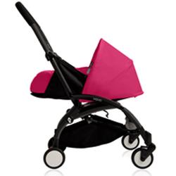 BabyZen - YOYO Newborn Plus Black With Pink