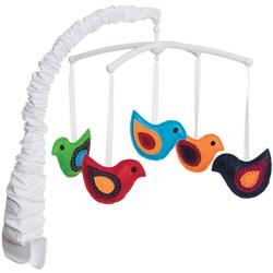 Halo Bassinest Swivel Sleeper Bassinet Mobile - Whimsical Birds