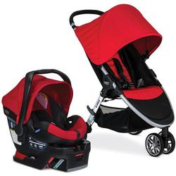 Britax S03803500 B-Agile 3 / B-Safe 35 Travel System - Red