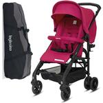 Inglesina Zippy Light Stroller with Raincover and Carry Bag Sweet Cancy Pink