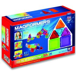 Magformers 65032 Rainbow Solids 40pc. Set
