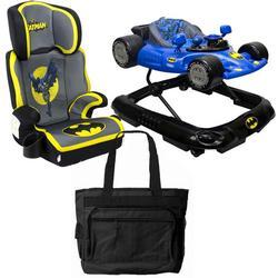 Kids Embrace Batman Booster Car Seat Batmobile Walker With Diaper Bag