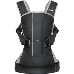 Baby Bjorn 093065US Baby Carrier One - Black/Silver