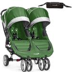 Baby Jogger 1962750KT - City Mini Double Stroller With Parent Console - Evergreen/Gray