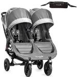 Baby Jogger 1962773KT - City Mini GT Double Stroller With Parent Console - Steel
