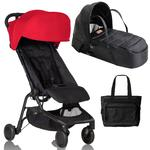 Mountain Buggy Nano 2 Newborn System  Ruby