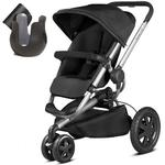 Quinny CV290RKBK10 - Buzz Xtra Stroller With Cup Holder- Rocking Black