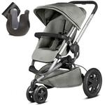 Quinny CV290CZKK10- Buzz Xtra Stroller With Cup Holder - Gravel Grey