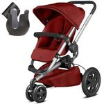 Quinny CV290CKTK10 - Buzz Xtra Stroller With Cup Holder- Red Rumor