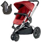 Quinny CV268CKTK10 - Buzz Xtra Stroller With Cup Holder- Red Rumor