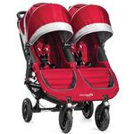 Baby Jogger 1959387 - City Mini GT Double Stroller - Crimson/Gray