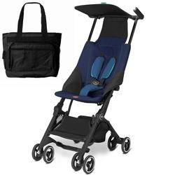 Goodbaby GB 616230016 Pockit Stroller with Diaper Bag - Sea Port Blue
