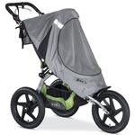 BOB S01755600 Ironman Sport Utility Single Stroller Sun Shield - Grey