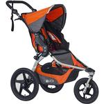 BOB - Revolution FLEX Stroller with Bag - Orange/Silver