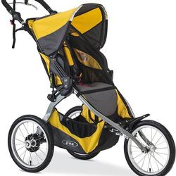 BOB Ironman, Single Stroller, with a diaper bag, Yellow