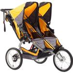 BOB U561856 Ironman, Duallie Double Stroller - Yellow