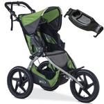 BOB U651856 Sport Utility Stroller - Meadow with FREE Diaper Bag
