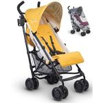 UPPAbaby 0180-MYA G-LUXE Stroller - Maya (Marigold/Carbon) with Rain Shield