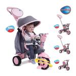 Smart Trike 6500200 smarTrike 4 in 1 Swing Trike - Pink
