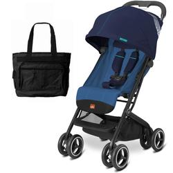 Goodbaby GB QBIT Plus Baby Stroller with Diaper Bag Seaport Blue