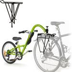 Burley Piccolo Trailercycle With Moose Neck Rack - Green