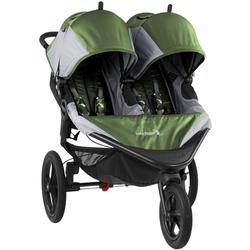 Baby Jogger  1959593 Summit X3 Double Jogging Stroller - Green/Gray